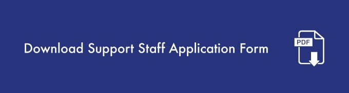 Download Suppoer Staff Application Form